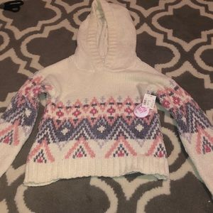 NWT justice sweater size 10 super soft
